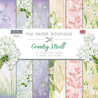 The Paper Boutique - Country Stroll Collection - 6 x 6 Paper Pad