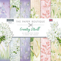 The Paper Boutique - Country Stroll Collection - 8 x 8 Paper Pad