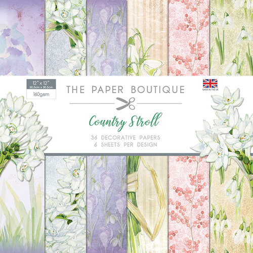The Paper Boutique - Country Stroll Collection - 12 x 12 Paper Pad