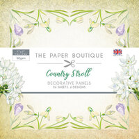 The Paper Boutique - Country Stroll Collection - 7 x 7 Panel Pad