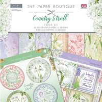 The Paper Boutique - Country Stroll Collection - Paper Kit