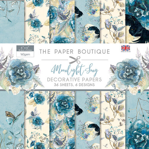 The Paper Boutique - Moonlight Song Collection - 6 x 6 Paper Pad