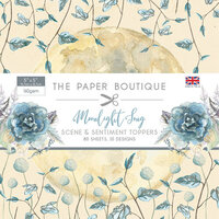 The Paper Boutique - Moonlight Song Collection - 5 x 5 Sentiments Pad