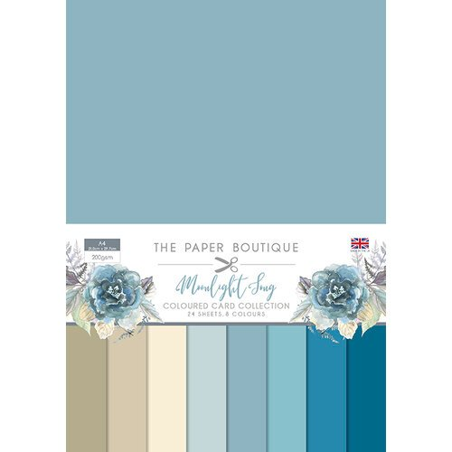The Paper Boutique - Moonlight Song Collection - Colour Card Collection