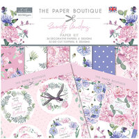 The Paper Boutique - Serenity Gardens Collection - 8 x 8 Paper Kit