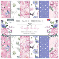 The Paper Boutique - Serenity Gardens Collection - 8 x 8 Paper Pad