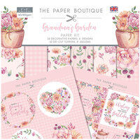 The Paper Boutique - Grandma's Garden Collection - 8 x 8 Paper Kit