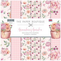 The Paper Boutique - Grandma's Garden Collection - 8 x 8 Paper Pad