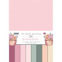 The Paper Boutique - Grandma's Garden Collection - Colour Card Collection