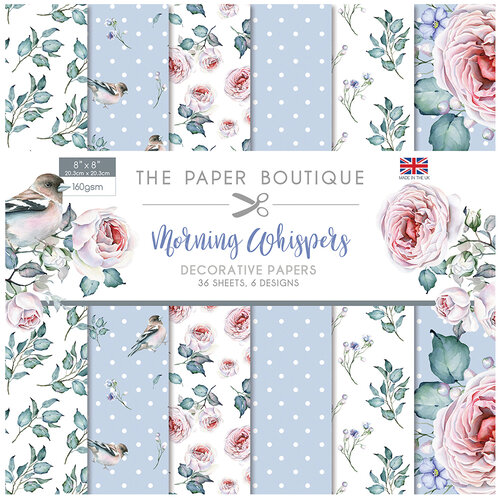 The Paper Boutique - Morning Whispers Collection - 8 x 8 Paper Pad