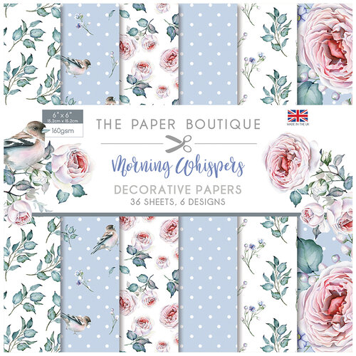 The Paper Boutique - Morning Whispers Collection - 6 x 6 Paper Pad