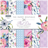 The Paper Boutique - Floral Daze Collection - 8 x 8 Paper Pad