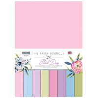 The Paper Boutique - Floral Daze Collection - Colour Card Collection