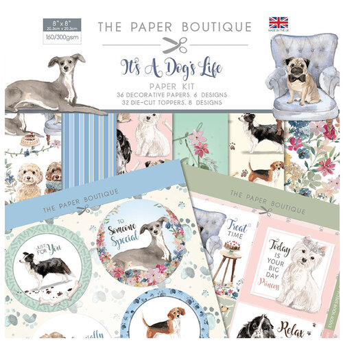 The Paper Boutique - It's a Dogs Life Collection - Paper Kit