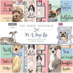 The Paper Boutique - It's a Dogs Life Collection - 8 x 8 Embellishments Pad