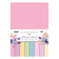 The Paper Boutique - Bohemian Blooms Collection - Colour Card Collection