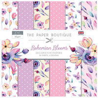 The Paper Boutique - Bohemian Blooms Collection - 6 x 6 Paper Pad
