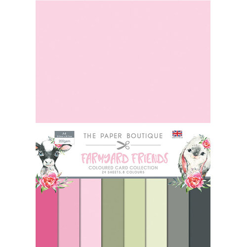 The Paper Boutique - Farmyard Friends Collection - Colour Card Collection