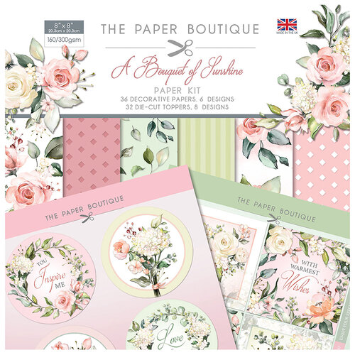 The Paper Boutique - A Bouquet of Sunshine Collection - Paper Kit
