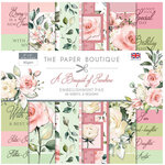 The Paper Boutique - A Bouquet of Sunshine Collection - 8 x 8 Embellishments Pad