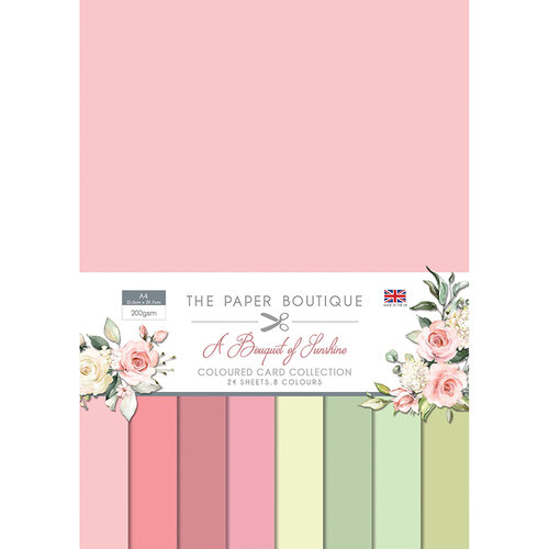 The Paper Boutique - A Bouquet of Sunshine Collection - Colour Card Collection