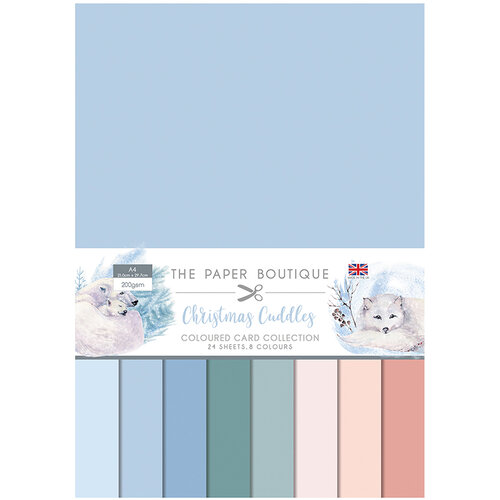 The Paper Boutique - Christmas Cuddles Collection - Colour Card Collection