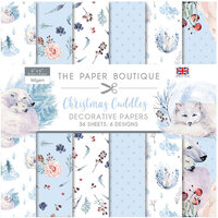 The Paper Boutique - Christmas Cuddles Collection - 6 x 6 Paper Pad
