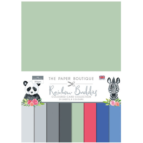 The Paper Boutique - Rainbow Buddies Collection - Colour Card Collection