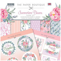 The Paper Boutique - Summertime Blooms Collection - 8 x 8 Paper Kit