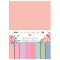 The Paper Boutique - Summertime Blooms Collection - Colour Card Collection