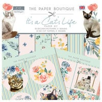 The Paper Boutique - It's a Cats Life Collection - Paper Kit