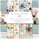 The Paper Boutique - It's a Cats Life Collection - 8 x 8 Embellishments Pad