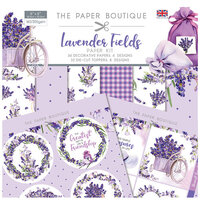 The Paper Boutique - Lavender Fields Collection - Paper Kit