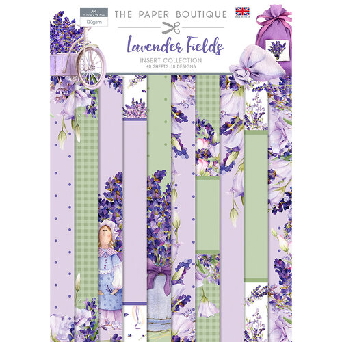 The Paper Boutique - Lavender Fields Collection - Insert Collection