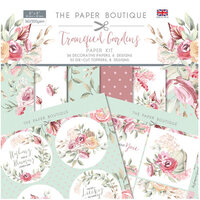 The Paper Boutique - Tranquil Gardens Collection - Paper Kit