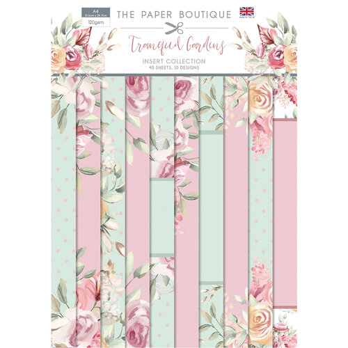 The Paper Boutique - Tranquil Gardens Collection - Insert Collection