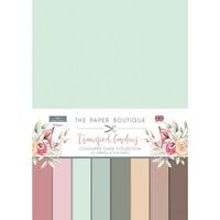 The Paper Boutique - Tranquil Gardens Collection - Colour Card Collection