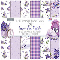 The Paper Boutique - Lavender Fields Collection - 6 x 6 Paper Pad