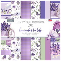 The Paper Boutique - Lavender Fields Collection - 12 x 12 Card Making Pad