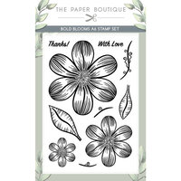 The Paper Boutique - Vintage Blooms Collection - A6 Stamp Set - Bold Blooms