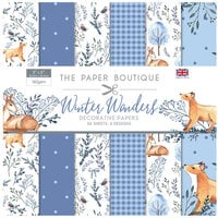 The Paper Boutique - Winter Wonders Collection - 8 x 8 Paper Pad