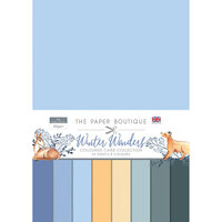 The Paper Boutique - Winter Wonders Collection - Colour Card Collection