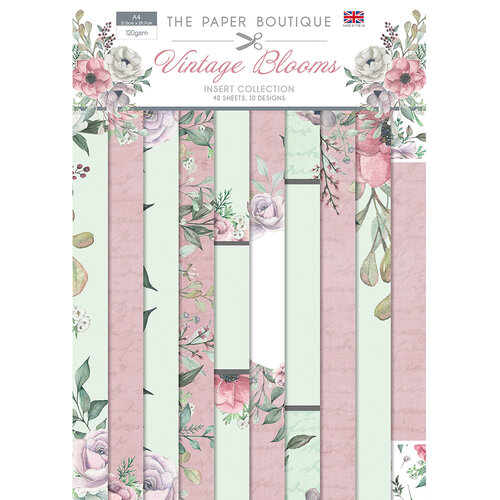The Paper Boutique - Vintage Blooms Collection - Insert Collection