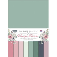 The Paper Boutique - Vintage Blooms Collection - Colour Card Collection