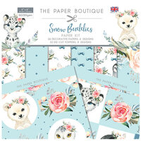 The Paper Boutique - Snow Buddies Collection - Paper Kit