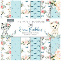 The Paper Boutique - Snow Buddies Collection - 8 x 8 Paper Pad