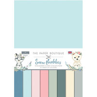 The Paper Boutique - Snow Buddies Collection - Colour Card Collection
