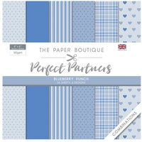 The Paper Boutique - Perfect Partners Collection - 8 x 8 Paper Pad - Blueberry Punch