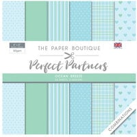 The Paper Boutique - Perfect Partners Collection - 8 x 8 Paper Pad - Ocean Breeze