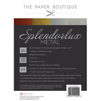 The Paper Boutique - Splendorlux - Metal Card